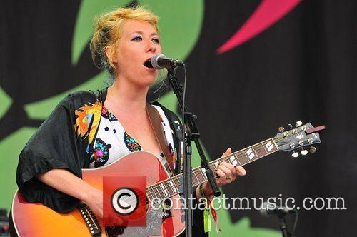 Performs at Glastonbury Festival 2008- Day Two