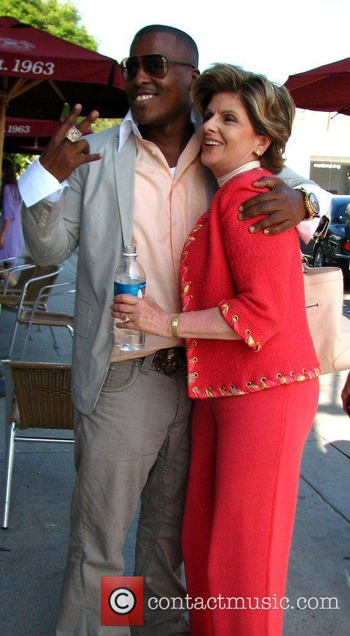 Gloria Allred and Rapper Won G 1