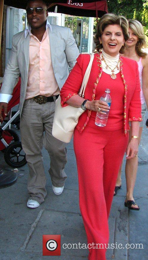 Gloria Allred and Rapper Won G 4