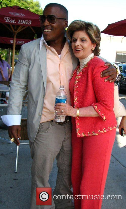 Gloria Allred and Rapper Won G 5