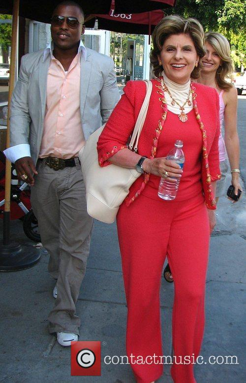 Gloria Allred and Rapper Won G 6