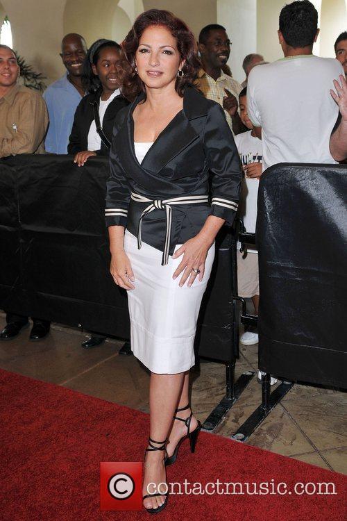 Gloria Estefan at the Seminole Hard Rock Hotel...