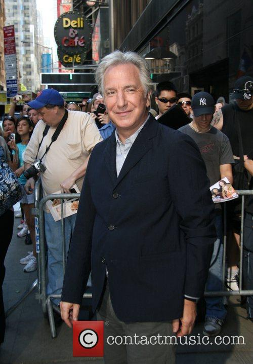 Alan Rickman, Abc and Good Morning America 2