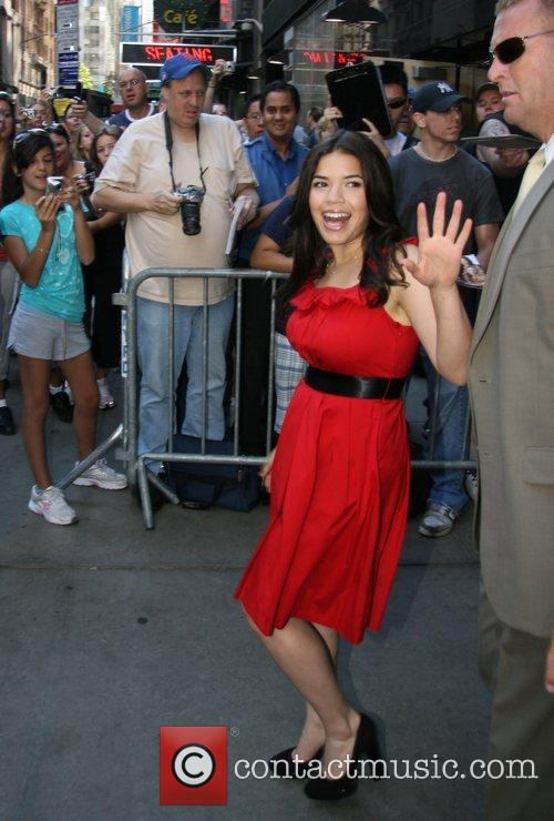 America Ferrera, Abc and Good Morning America 3