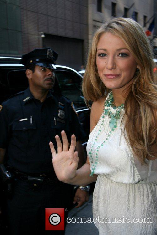 Blake Lively, Abc and Good Morning America 1