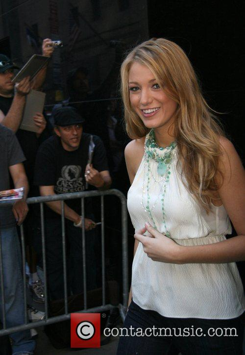 Blake Lively, Abc and Good Morning America 5