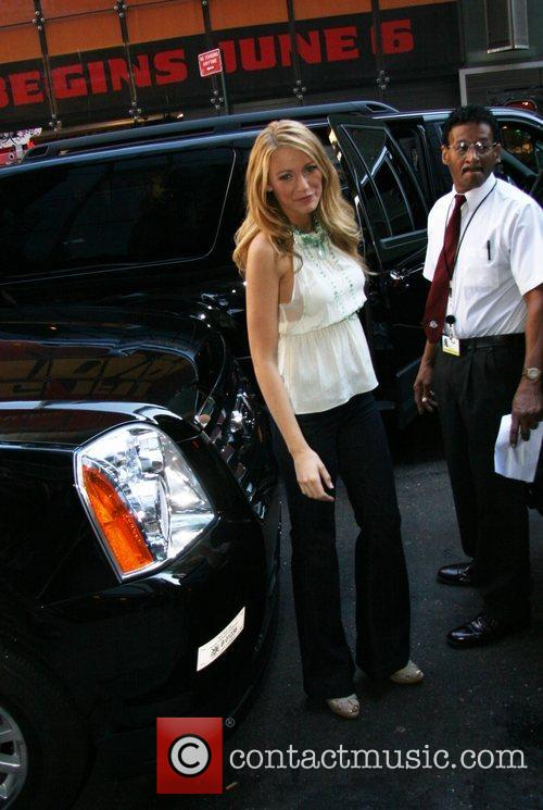 Blake Lively, Abc and Good Morning America 2