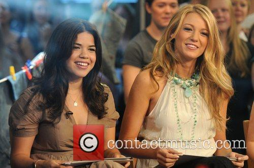 America Ferrera, Abc and Good Morning America 8