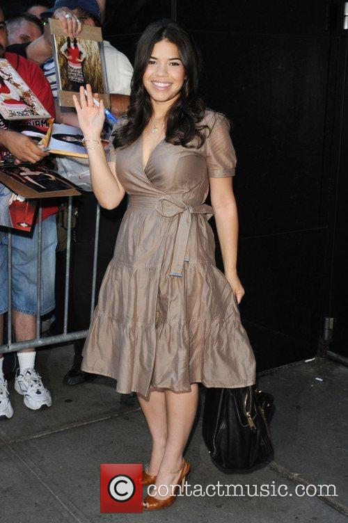 America Ferrera, Abc and Good Morning America 7