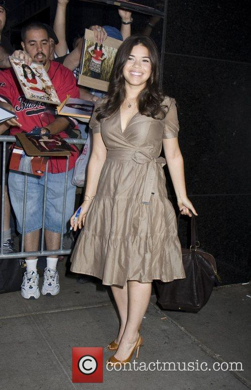 America Ferrera, Abc and Good Morning America 9
