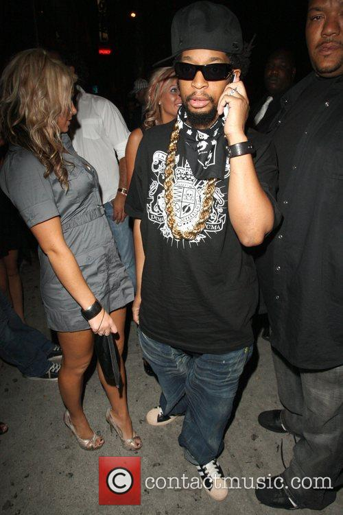 Lil John leaving Goa nightclub  Los Angeles,...