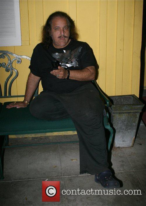 Ron Jeremy outside Goa nightclub Los Angeles, California