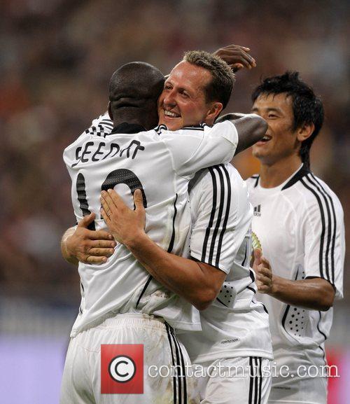 Goal4Africa charity football match at Allianz Arena