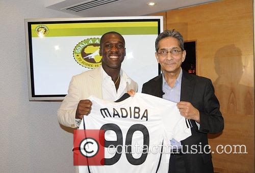 Clarence Seedorf and Nelson Mandela 6
