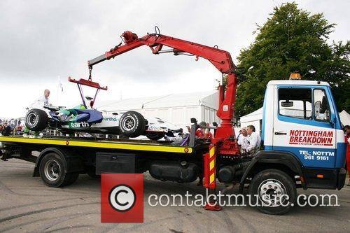Jenson Button's car Goodwood Festival of Speed -...