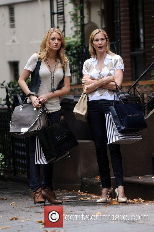 Blake Lively, Kelly Rutherford Stars of 'Gossip Girl'...