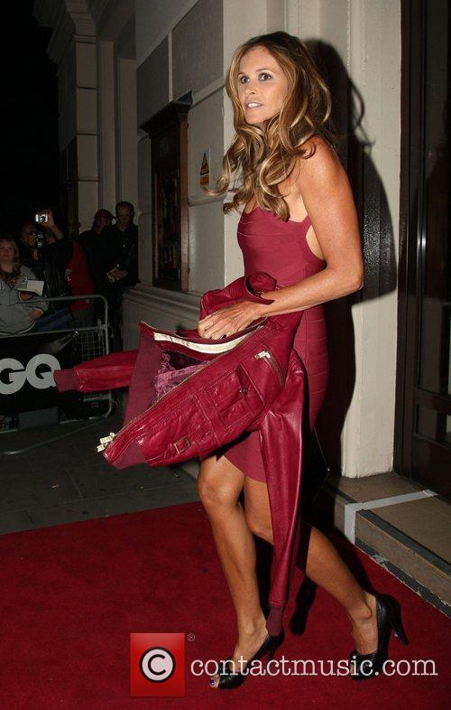 Elle Macpherson leaving the GQ Men of the...