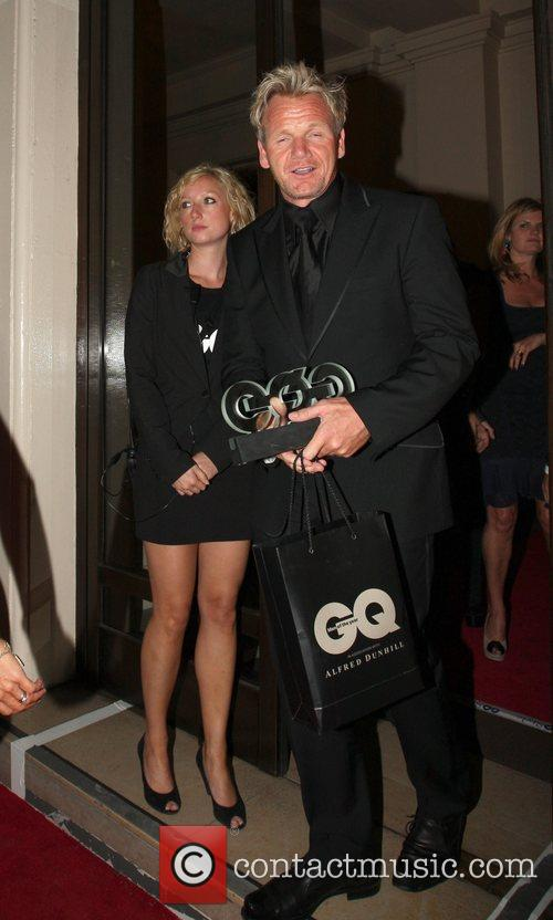 Leaving the GQ Men of the Year Awards