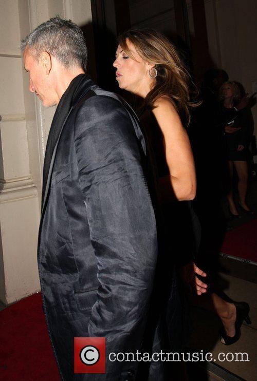 Elizabeth Hurley and Patrick Cox 2