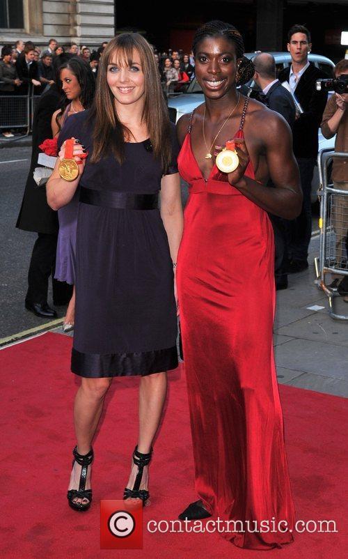 Victoria Pendleton and Christine Ohuruogu GQ Men of...