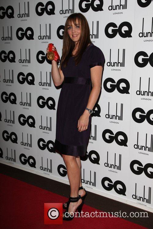 Victoria Pendelton GQ Men of the Year Awards...