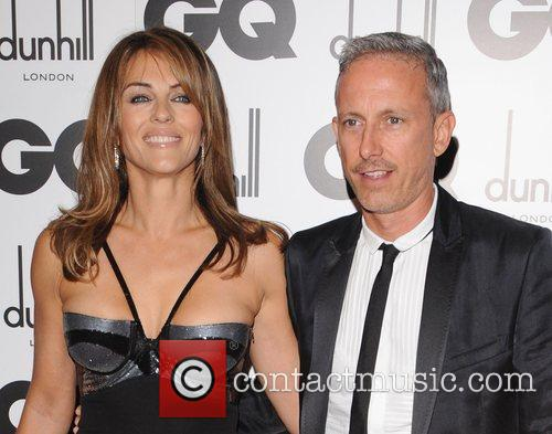 Elizabeth Hurley and Patrick Cox 1
