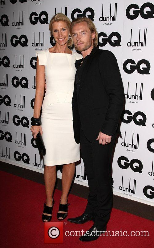 Ronan Keating with his wife Yvonne Connolly GQ...