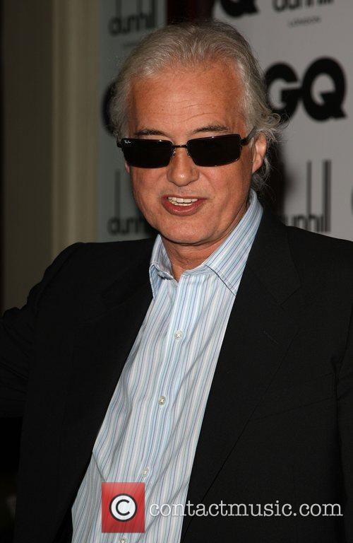 Jimmy Page GQ Men of the Year Awards...