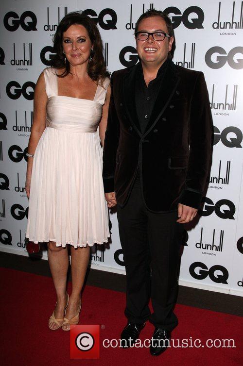 Carol Vorderman and Alan Carr GQ Men of...