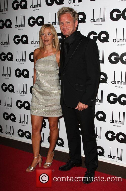 Gordon Ramsay with his wife Tama Ramsay GQ...