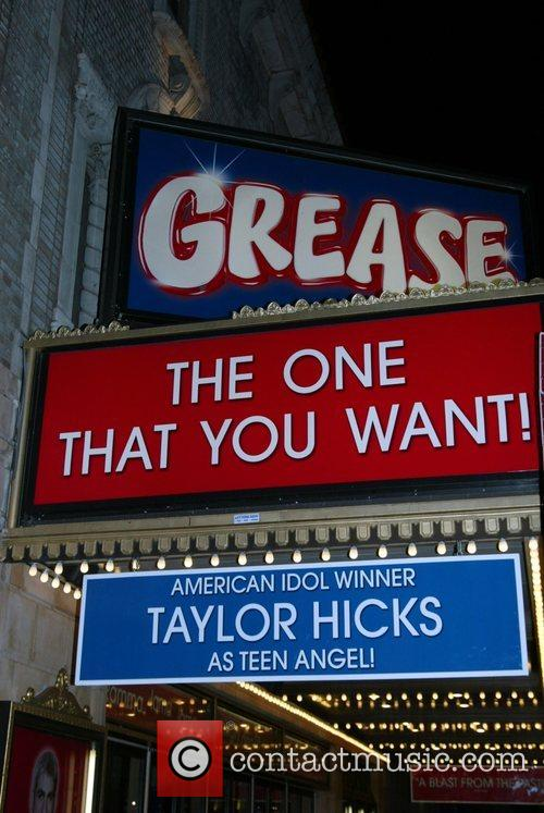 Theatre Marquee Taylor Hicks from Amercian Idol takes...