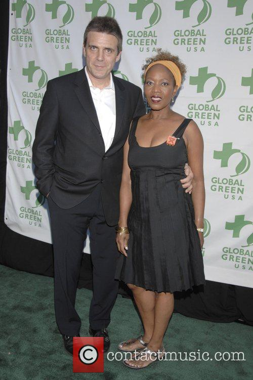 Alfre Woodard and guest 12th Annual Green Cross...