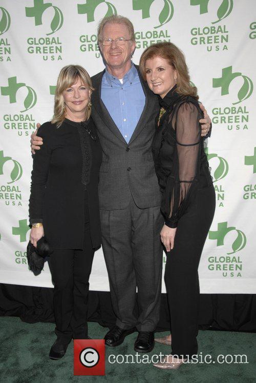 Arianna Huffington, Ed Begley jr. and Lyn Lear...