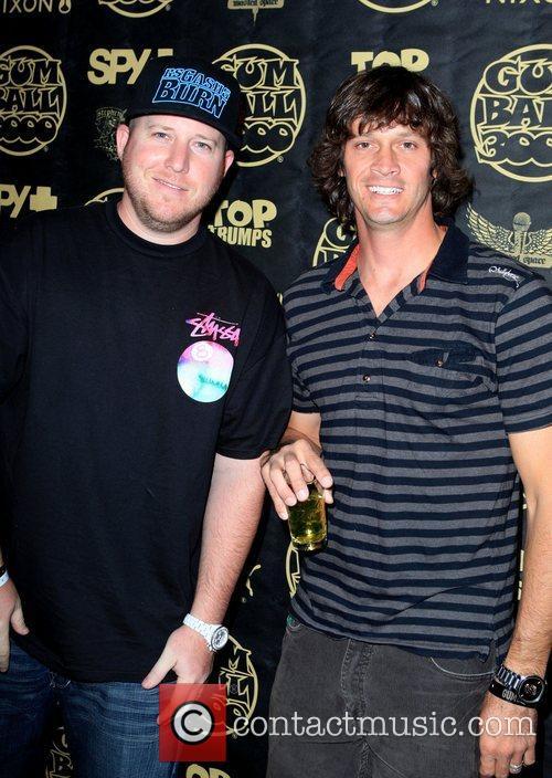 Dan Marmelstein and Bucky Lasek The Gumball 3000...