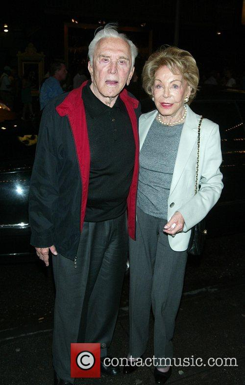 Kirk Douglas and his wife of 54 years...