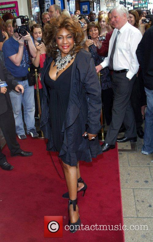 Mary Wilson Hairspray The School Musical - premiere...