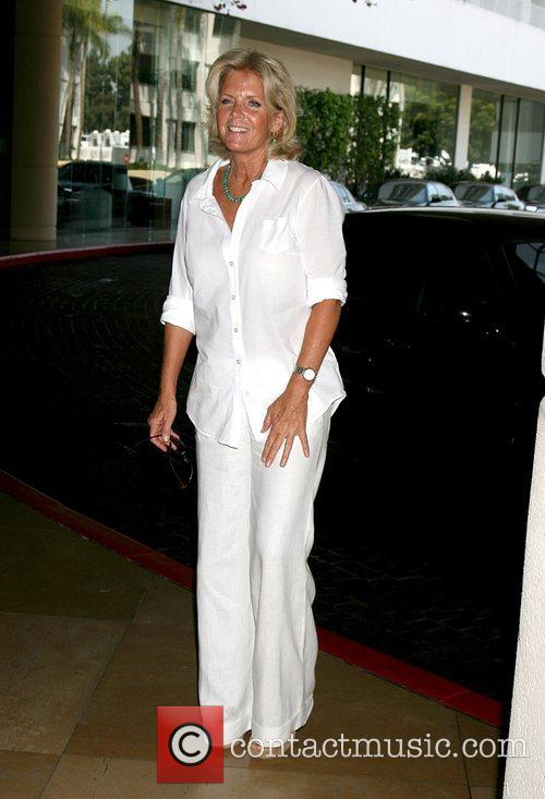Meredith Baxter  arriving at the Hallmark Channel...