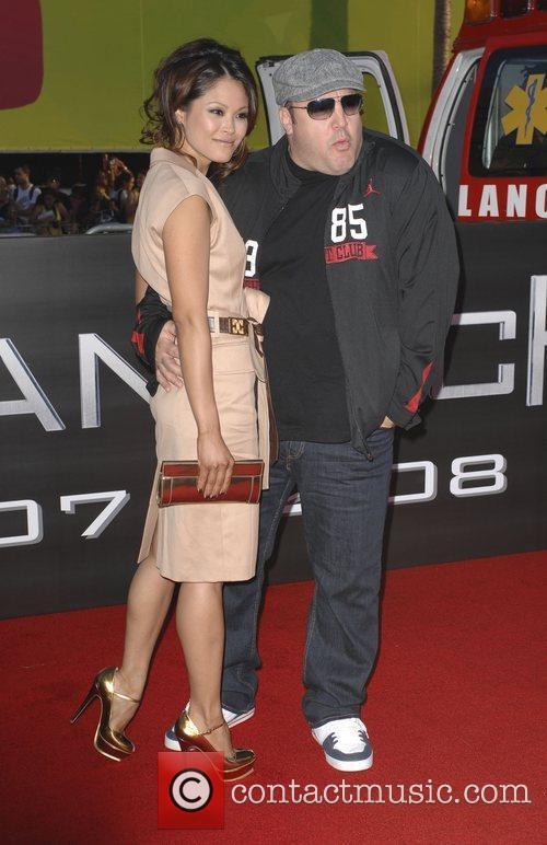Steffiana De La Cruz and Kevin James 'Hancock'...