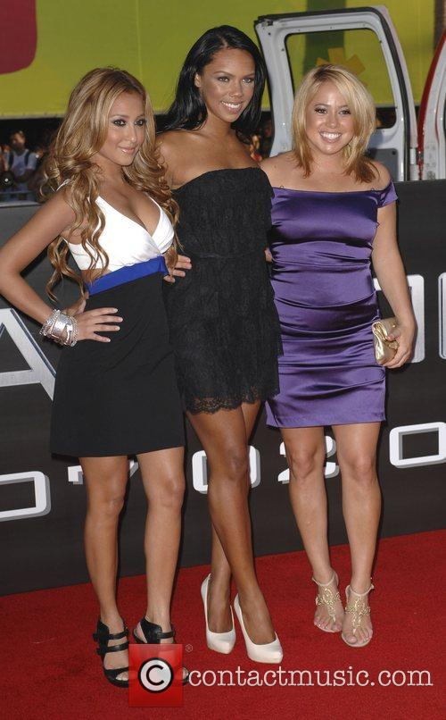 The Cheetah Girls 'Hancock' Los Angeles Premiere -...
