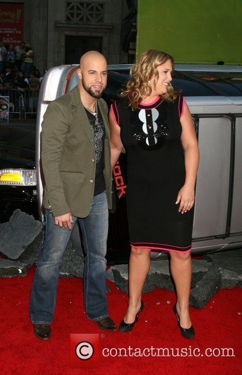 Chris Doughtry and guest 'Hancock' Los Angeles Premiere...