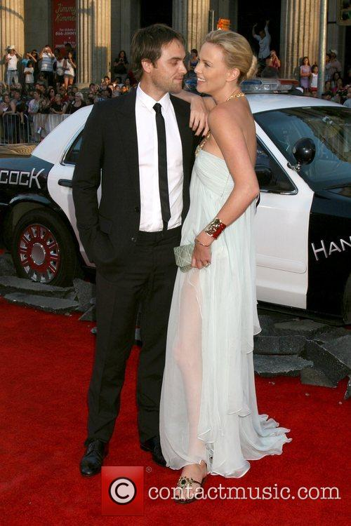 Stuart Townsend & Charlize Theron 'Hancock' Los Angeles...
