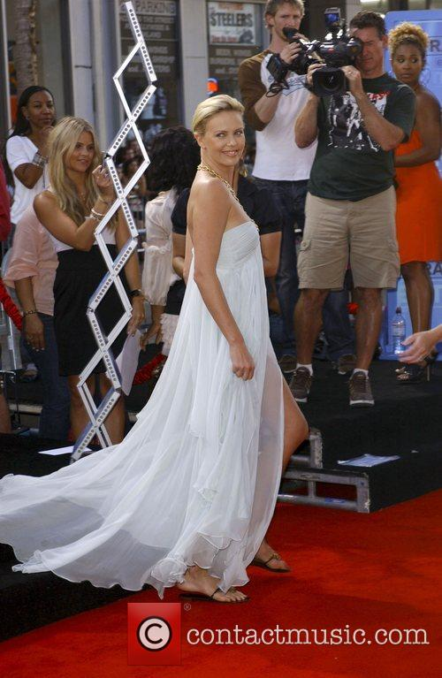 Charlize Theron, Grauman's Chinese Theatre