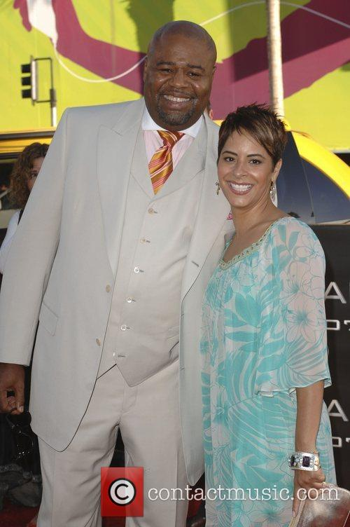 Chi McBride and guest Los Angeles premiere of...