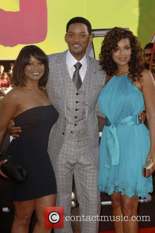 Guest, Will Smith and LisaRaye Los Angeles premiere...
