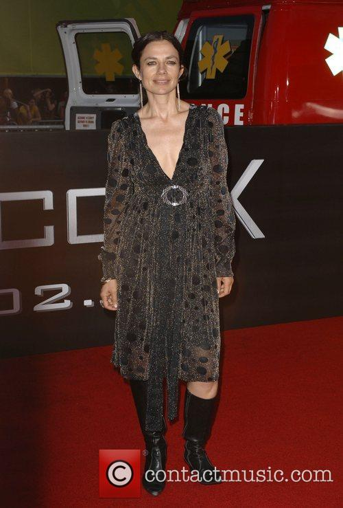 Justine Bateman Los Angeles premiere of 'Hancock' held...