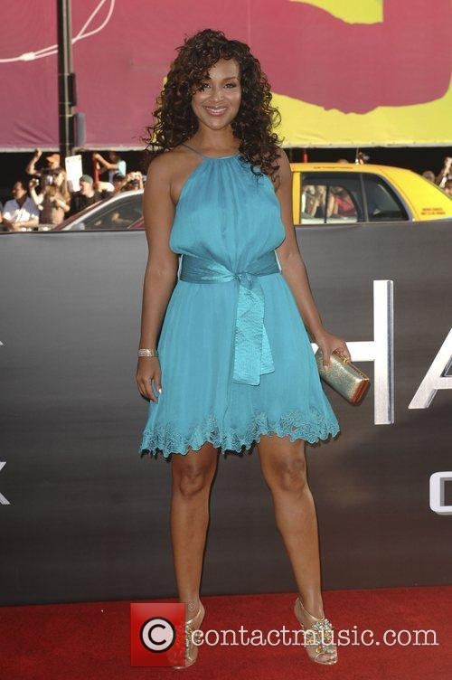 LisaRaye Los Angeles premiere of 'Hancock' held at...