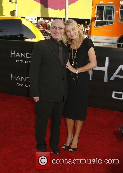 Producer Akiva Goldman and guest 'Hancock' Los Angeles...
