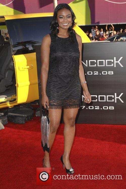 Tatyana Ali Los Angeles premiere of 'Hancock' held...