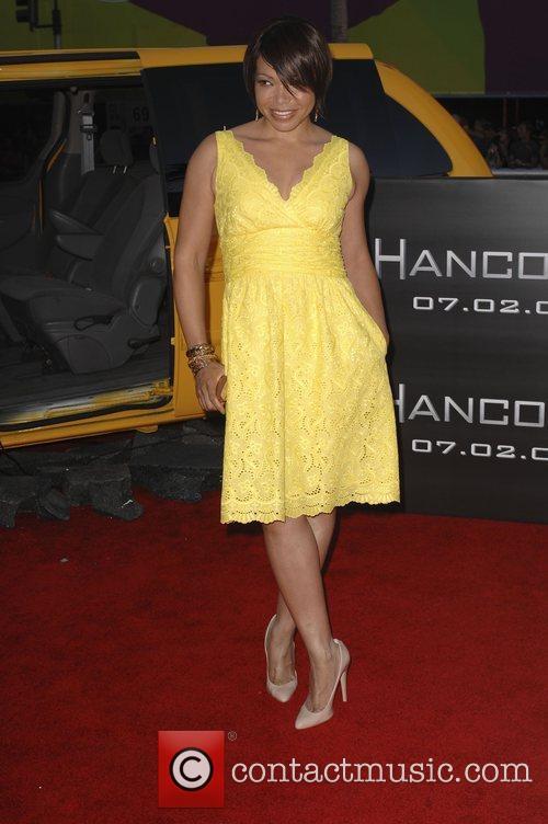 Tisha Campbell Los Angeles premiere of 'Hancock' held...