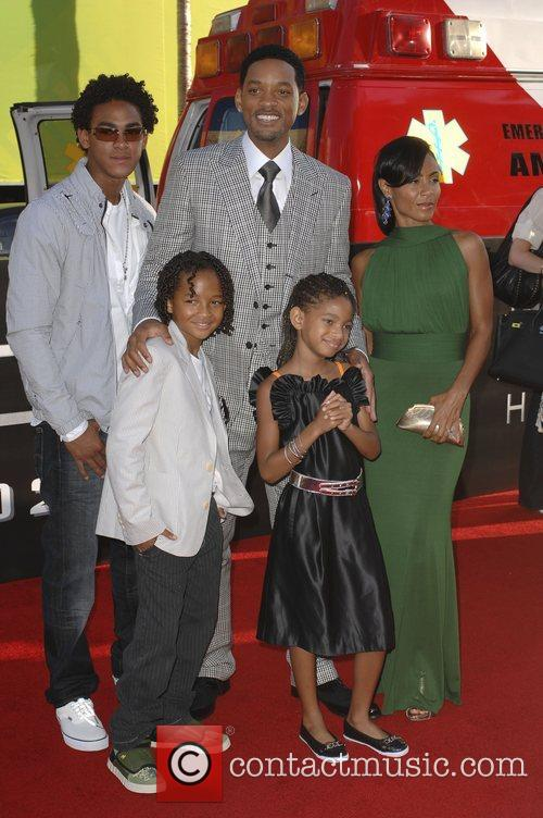 Trey Smith, Jada Pinkett-Smith and Will Smith 2